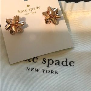 Kate Spade Rose Gold Earrings NWT
